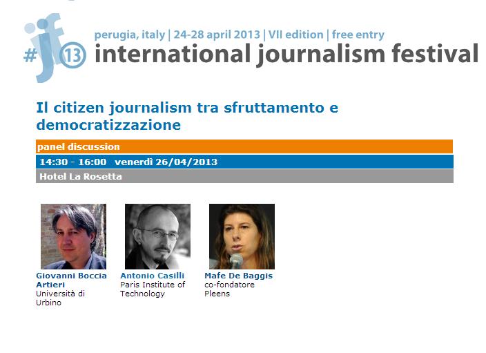 Festival giornalismo Perugia