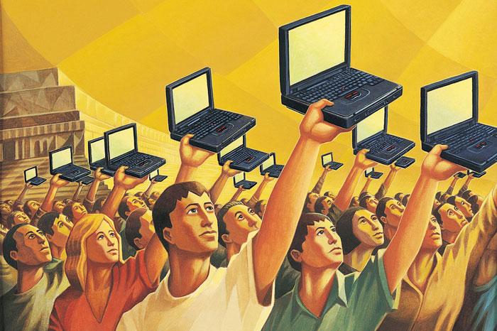 Risultati immagini per democrazia digitale immagini